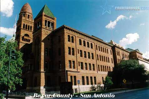 Bexar County Courthouse in San Antonio, Texas