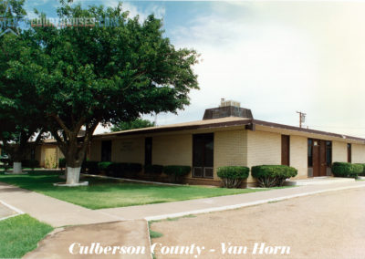 Culberson County Courthouse