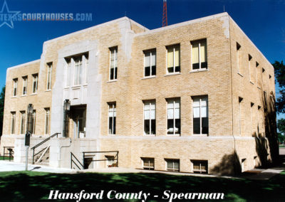 Hansford County Courthouse