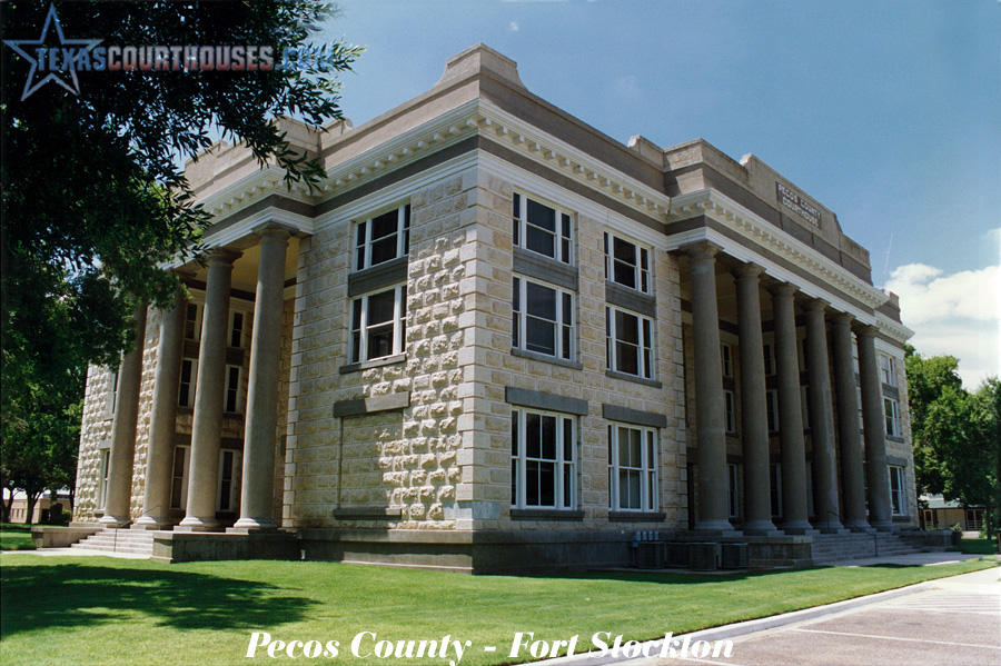 Pecos County Courthouse