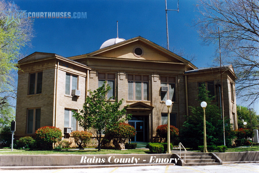 Rains County Courthouse