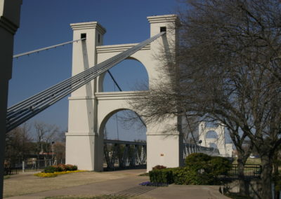 Waco Suspension Bridge 1