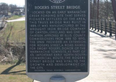 Waxahachie Rogers St Bridge 4