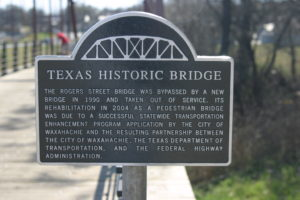 Waxahachie Rogers St Bridge 5