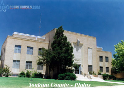 Yoakum County Courthouse