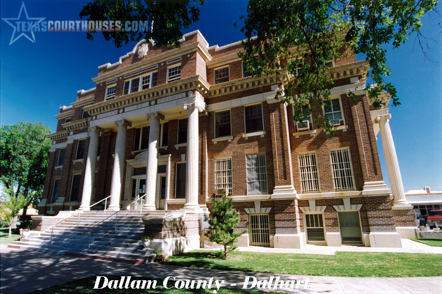 Dallam County Courthouse