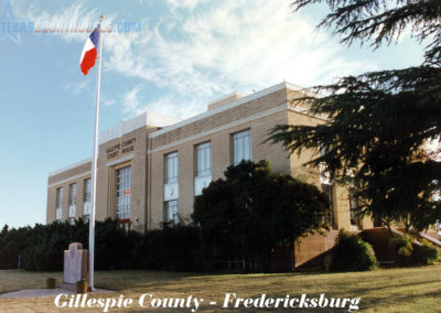 Gillispie County Courthouse