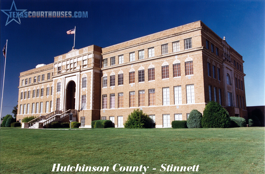 Hutchison County Courthouse