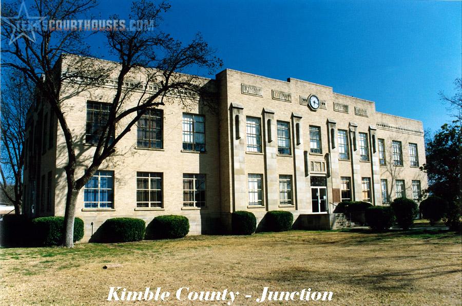 Kimble County Courthouse
