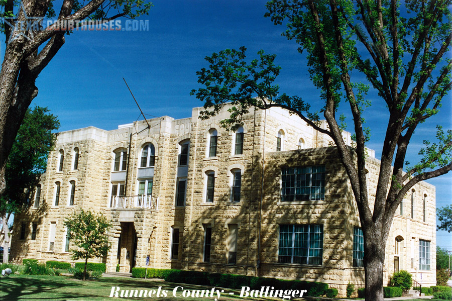 Runnels County Courthouse