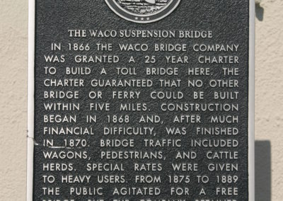 Waco Suspension Bridge 15